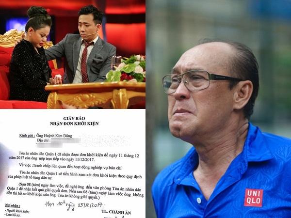 Cho rằng Lê Giang chỉ là nạn nhân, Duy Phương khởi kiện HTV và NSX chương trình 'Sau ánh hào quang'