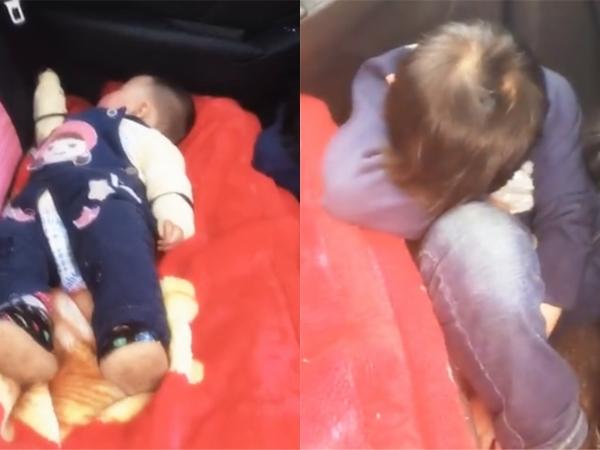 Em gái ngủ ngon lành trên ghế ô tô, hành động của anh trai bên cạnh khiến người xem không khỏi xuýt xoa, ngưỡng mộ