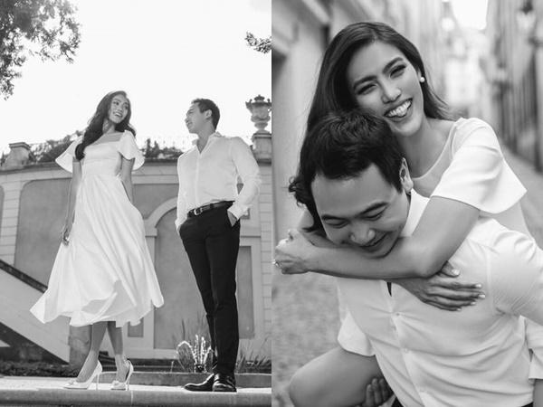 Gần ngày cưới, chồng đại gia đăng ảnh lãng mạn, gửi lời yêu ngọt ngào đến Lan Khuê