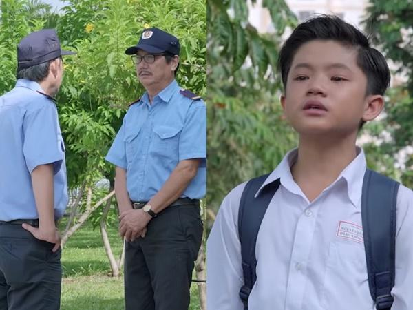 'Gạo nếp gạo tẻ': Nghẹn lòng khi Út Khoa khóc nức nở vì phát hiện ông Vương đi làm bảo vệ, còn bị mắng chửi dọa đuổi việc