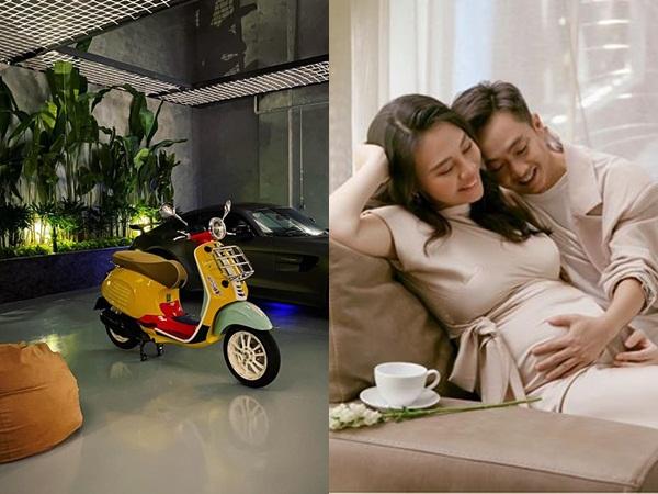 Giữa dàn siêu xe tiền tỷ, gara nhà Cường Đô la bỗng lọt thỏm một chiếc xe máy, nghe giá ai cũng 'hết hồn'