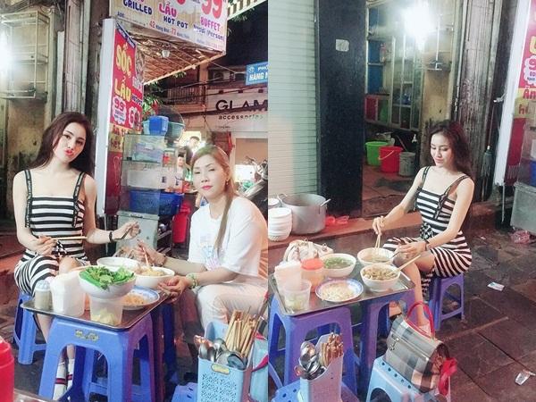 Giữa tin đồn bị bắt vì bán dâm nghìn USD, Á hậu Thư Dung đăng ảnh đi ăn tối cùng bạn bè