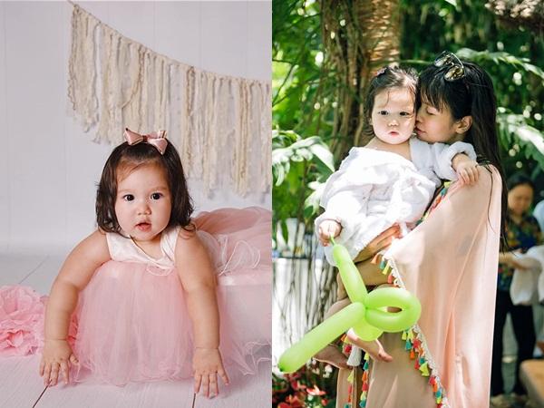 Con gái tròn 1 tuổi, Hà Anh xúc động nói về chuyện xem giờ đẹp trước khi lên bàn đẻ mổ