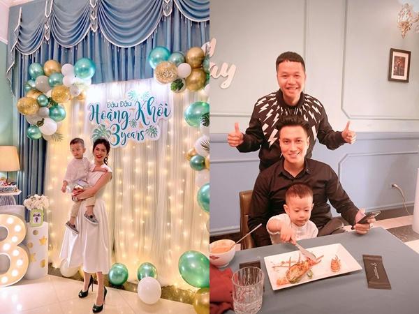 Hậu ly hôn, Việt Anh và vợ cũ 'tái hợp' vì niềm vui của con trai chung