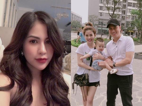 Hậu ly hôn, vợ cũ Việt Anh tuyên bố sẽ ở vậy nuôi con vì ám ảnh đàn ông trăng hoa