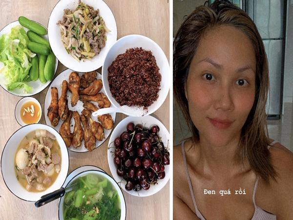 """Hết khoe mâm cơm """"xịn sò"""", H'Hen Niê còn quay clip dạy từ đầu đến cuối cách làm ngũ cốc đặc biệt để ăn sáng"""