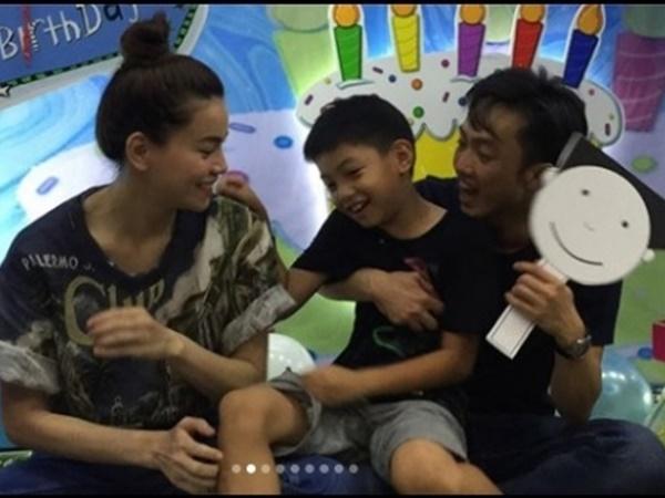 Hồ Ngọc Hà cười tít mắt khi Cường Đô la bù đắp món quà sinh nhật ý nghĩa cho con trai Subeo