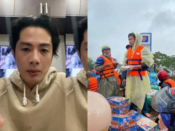 Hồ Việt Trung, Huỳnh Phương… ném đồ cứu trợ cho người dân: Có đáng lên án?
