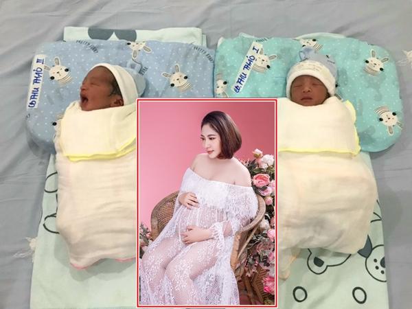 Hoa hậu Đặng Thu Thảo đã sinh đôi con trai cho chồng đại gia, hé lộ diện mạo cặp song sinh