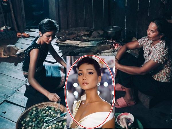 Bị nói thêu dệt xuất thân nghèo khó dù gia đình khá giả, Hoa hậu H'Hen Niê đáp trả bất ngờ
