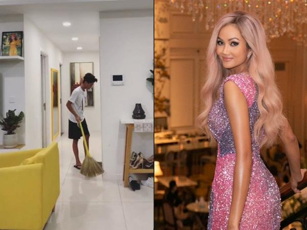 Hoa hậu H'Hen Niê vừa chuyển đến nhà thuê mới, hé lộ gia tài đồ hiệu 'khủng' khiến dân tình ngã ngửa