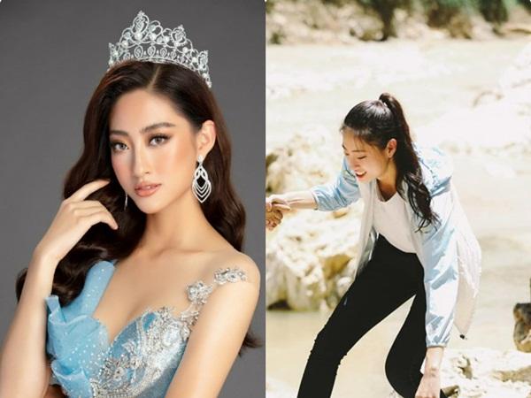 Hoa hậu Lương Thùy Linh xúc động thăm dân vùng lũ, fan khen điều này