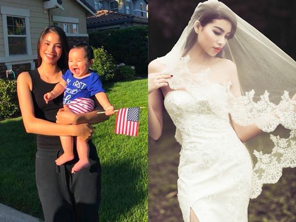 Công khai chuyện có con chưa lâu, Hoa hậu Phạm Hương bất ngờ tiết lộ thời gian đám cưới