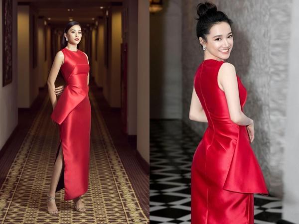 """Hoa hậu Tiểu Vy """"đụng hàng"""" Nhã Phương - ai đẹp hơn?"""