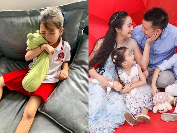 Học Ốc Thanh Vân cách xử lý cực khéo khi con mè nheo, khóc lóc không muốn đến trường