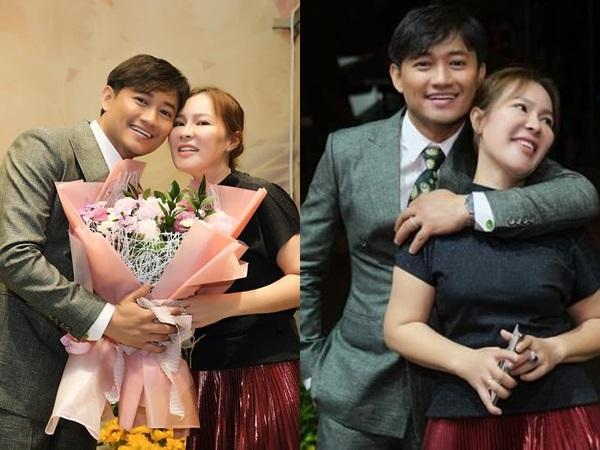 Quý Bình thoải mái ôm, thể hiện tình cảm thân mật với vợ tổng giám đốc sau hơn 1 tháng cưới