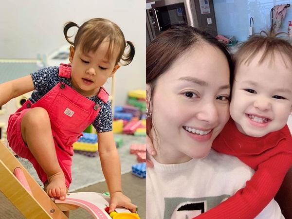 Con gái mới 24 tháng tuổi đã biết đọc, Lan Phương tự hào: 'Cái gì con cũng giỏi hơn mẹ'