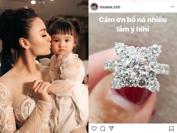 Khoe nhẫn kim cương gần nửa tỉ nhưng Hồng Quế gây hoang mang vì điều này!