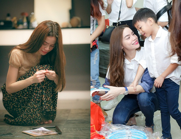 Khoe quà 8/3 của con trai Subeo, Hà Hồ nghẹn ngào với điều ước khó thành hiện thực của cậu bé