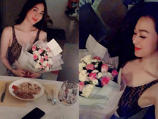 Không nhận yêu, Khánh My vẫn hạnh phúc khoe bữa tiệc ngọt ngào do Tiến Vũ tự chuẩn bị