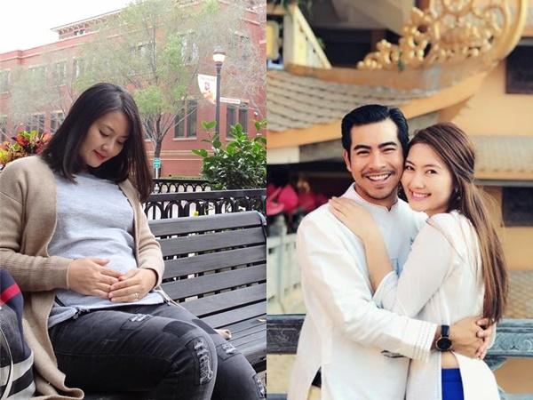 'Kiều nữ' Ngọc Lan vô tình để lộ chuyện đang mang thai con thứ 2 với ông xã Thanh Bình?
