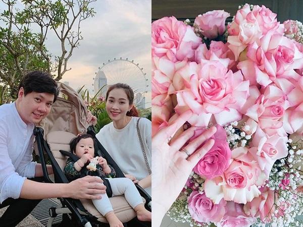 Kỷ niệm 2 năm ngày cưới, Đặng Thu Thảo hạnh phúc khoe món quà được ông xã tặng