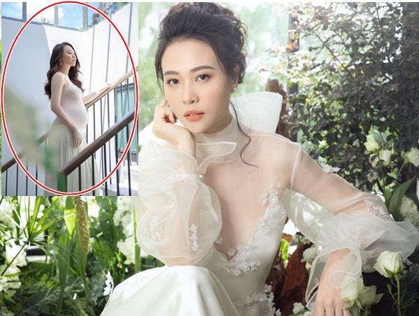 Ngọt ngào kỷ niệm 1 năm ngày cưới, vợ Cường Đô la không quên trách yêu chồng vì làm cô 'to bụng'