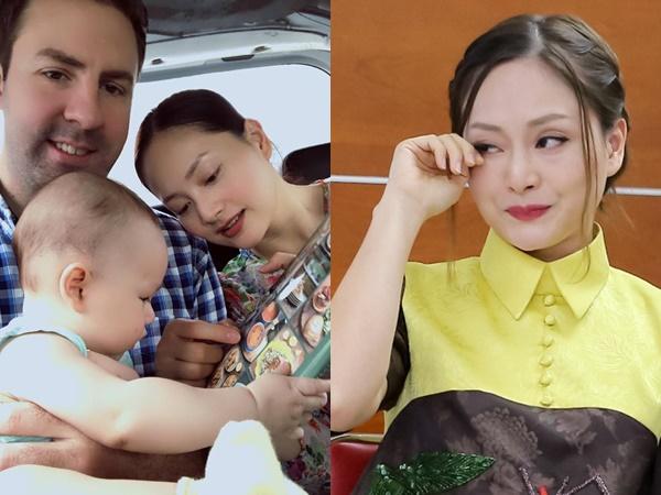 Sau 8 tháng sinh con với chồng Tây, Lan Phương 'ứa nước mắt' kể về cuộc sống những ngày giáp Tết