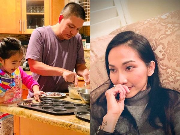 Lâu lắm Kim Hiền mới khoe chồng Việt kiều thế này và được dân mạng khen hết lời