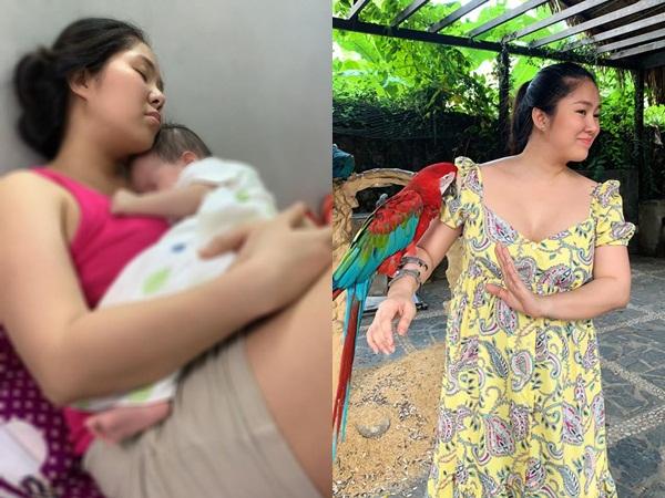 Vẫn 'ú nu' sau sinh, Lê Phương ám ảnh đến mức mơ thấy mình thon gọn như thời son rỗi