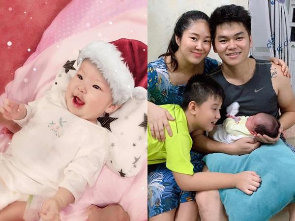 Lê Phương hạnh phúc với 'món quà Noel' vô giá của ông xã Trung Kiên