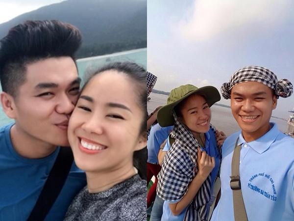 Vượt qua những chỉ trích, Lê Phương khoe ảnh ngọt ngào bên ông xã tại Côn Đảo