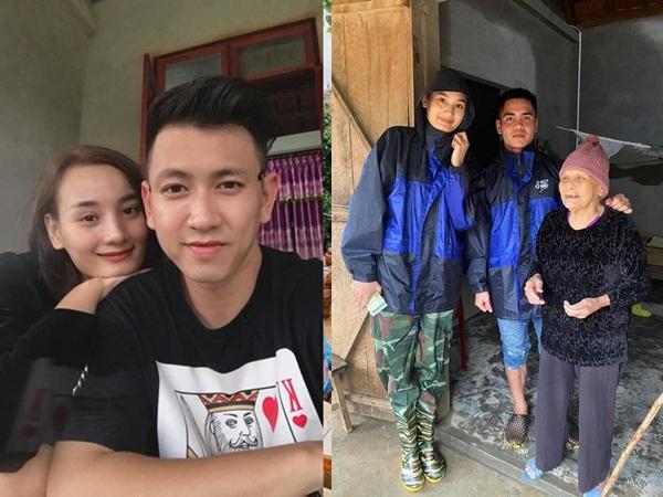 Lê Thúy đi cứu trợ lũ lụt nhưng liên tục âm tiền nhà, phản ứng của chồng Việt kiều gây bất ngờ