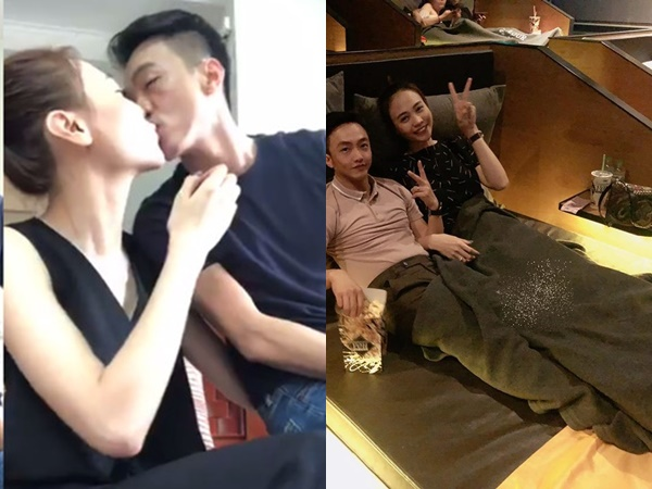 1 tháng sau đám hỏi, Cường Đô la tung ảnh 'giường chiếu' với Đàm Thu Trang