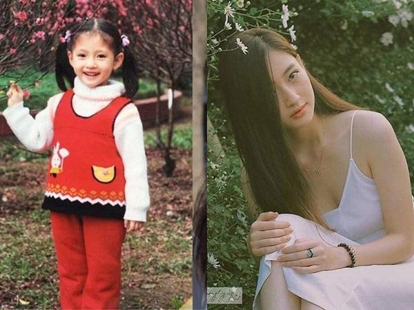 Lộ ảnh hiếm hoi thuở bé của tân Hoa hậu Thế giới Việt Nam 2019 chứng minh không dao kéo như lời đồn