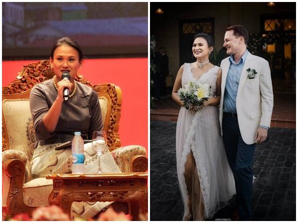 Lộ gia thế 'siêu khủng' của người mà chồng cũ Hồng Nhung vừa tái hôn