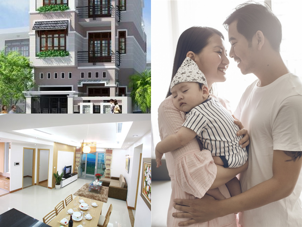 Lộ hình ảnh đầu tiên về căn nhà 'khủng' Thanh Bình tặng bà xã Ngọc Lan và con trai trong ngày cận Tết