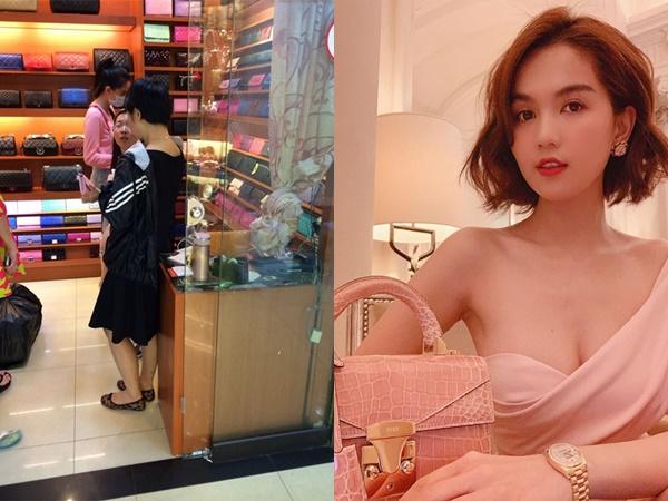 """Lộ hình ảnh lựa túi Quảng Châu, Ngọc Trinh dính nghi án """"đập hộp"""" túi fake"""
