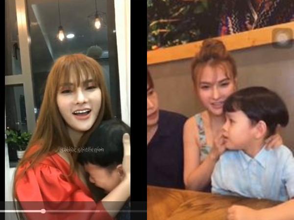 Lộ thêm clip con trai Thu Thủy sợ hãi ôm chặt mẹ, khóc thét 'ba kỳ quá', đáng chú ý nhất là hành động của Kin Nguyễn