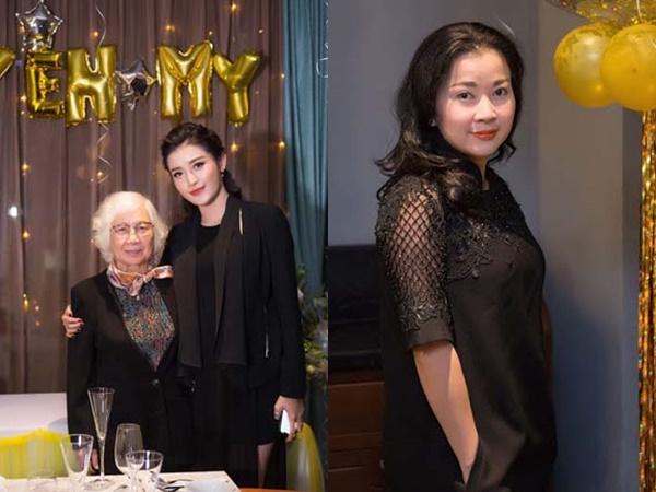 Mẹ Á hậu Huyền My xinh như gái 18 trong sinh nhật của con
