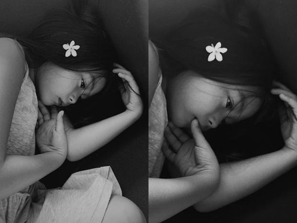 Mê mẩn vì bộ ảnh của con gái Đoan Trang: Chụp trắng đen, ngẫu hứng mà như tạp chí, thần thái đâu khác gì mẫu nhí?