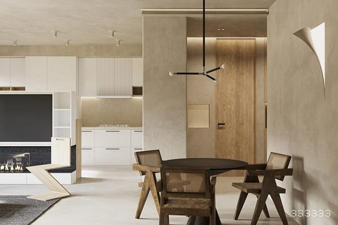 Mê mẩn với căn hộ được trang trí bằng gỗ