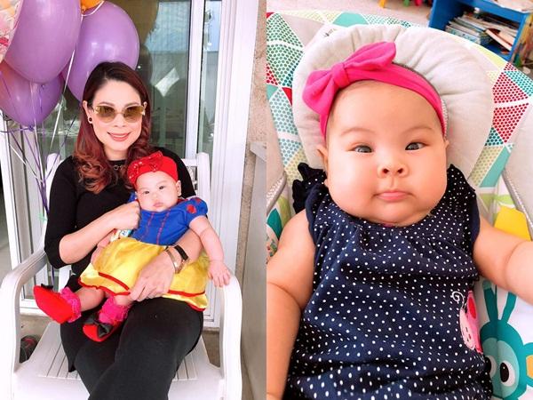 Mới 4 tháng tuổi, con gái Thanh Thảo bị bác sĩ buộc giảm cân gấp