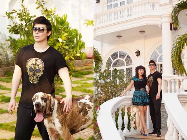 Nathan Lee khoe mẹ trẻ đẹp và biệt thự siêu sang chảnh giá hơn 600 tỷ đồng