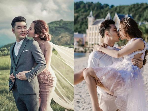 'Tan chảy' với bộ ảnh cưới đẹp như tranh vẽ của Ưng Hoàng Phúc và bà xã Kim Cương