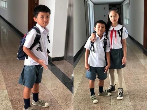 Ngày đầu đi học con trai Phạm Anh Khoa nói với mẹ: 'Hay thôi con về quê chăn bò vậy'