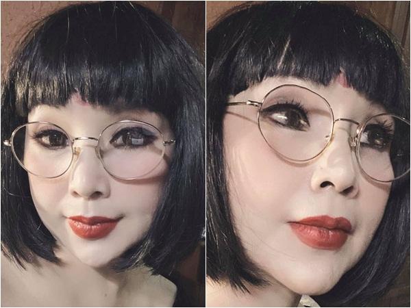 Nghệ sĩ Lan Hương lại gây hoang mang với gương mặt như 'búp bê sống' ở tuổi 56