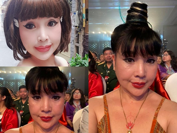 Nghệ sĩ Lan Hương tự tin khoe ảnh chụp cận mặt với camera thường sau ồn ào 'dao kéo'