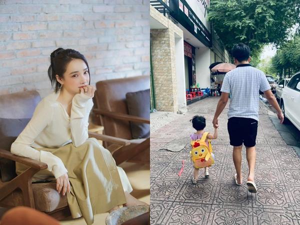 Nhã Phương hiếm hoi đăng ảnh con gái và chồng cực yêu, chỉ 1 câu nói là biết Trường Giang bảo vệ ái nữ đến mức nào!
