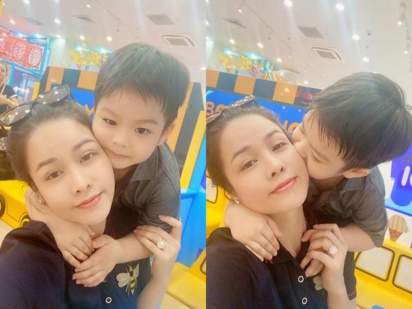 Nhật Kim Anh khoe ảnh bên con trai, giành được quyền nuôi con từ tay chồng cũ